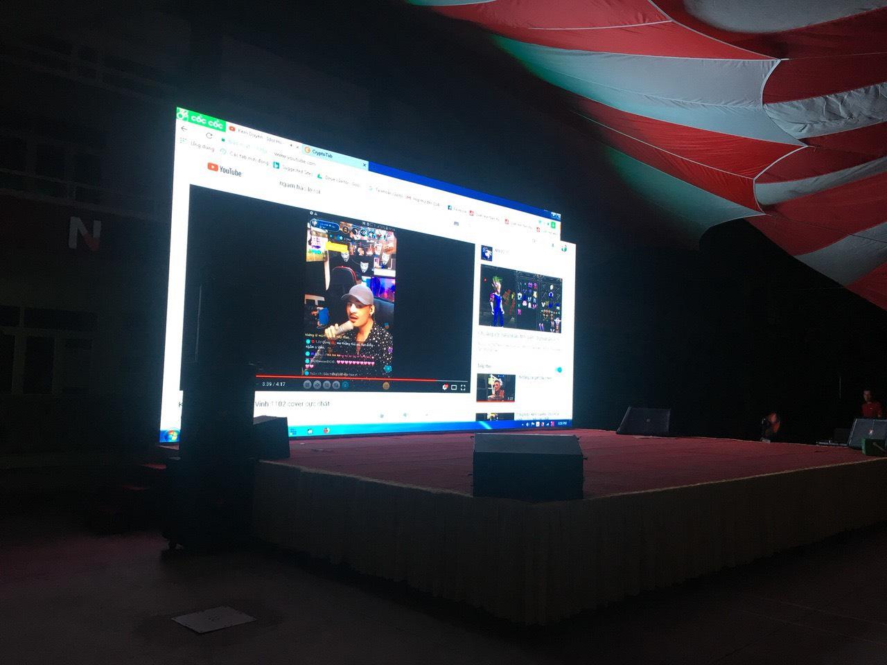 Báo giá thuê màn LED sân khấu 2020