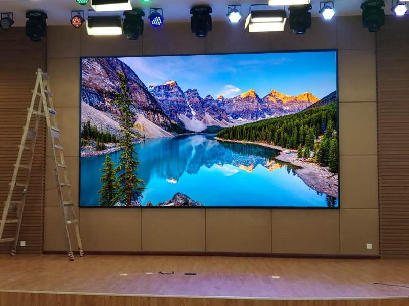 Màn hình LED trên sân khấu